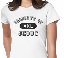 "Christian ""Property of Jesus"" Womens Fitted T-Shirt"