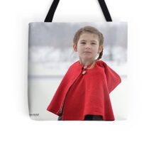 Little Red Is Not Afraid Tote Bag
