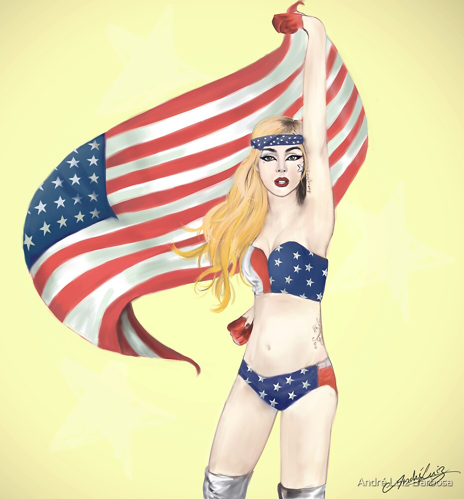 United States of Gaga by André Luiz Barbosa