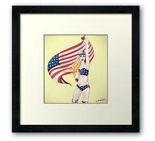 United States of Gaga Framed Print