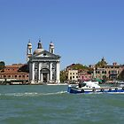 Venice - on the Grand Canal by lezvee