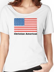 Christian American Women's Relaxed Fit T-Shirt