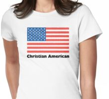 Christian American Womens Fitted T-Shirt