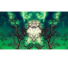 Visions Of Emerald Chaos Photographic Print