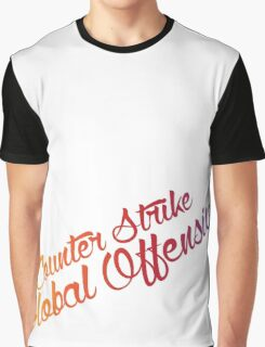 Counter Strike Faded Graphic T-Shirt