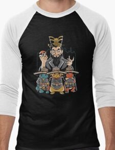 Big Trouble in Little Kanto Men's Baseball ¾ T-Shirt