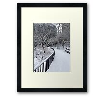 Freezing Point Framed Print