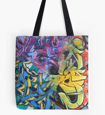 Urban Street Art (graffiti) Collage Tote Bag