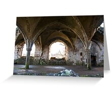 Lay Brothers Refectory, Waverley Greeting Card