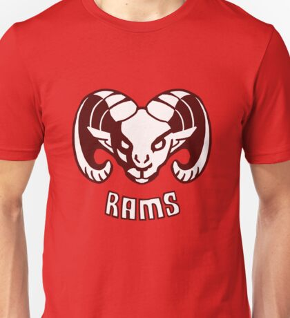 Rams  EDIT- CLEANED UP DESIGN Unisex T-Shirt