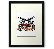 Top Guns Framed Print