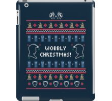Have a Wobbly Christmas! iPad Case/Skin