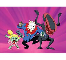 Monster Mash - Modern Monsters (Production Cel) Photographic Print
