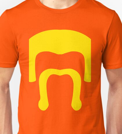Barbarian Face Icon - COC (Clash of Clans) Yellow Unisex T-Shirt