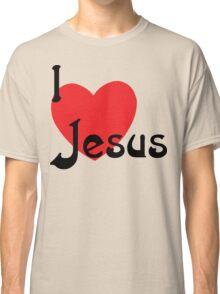 "Christian ""I Love Jesus"" Classic T-Shirt"
