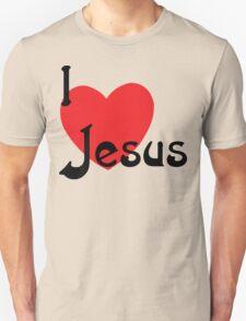 "Christian ""I Love Jesus"" T-Shirt"