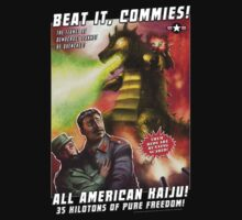 Beat it, Commies! by 01Graphics