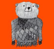 Bear Illustration  Kids Tee