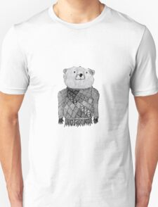Bear Illustration  T-Shirt