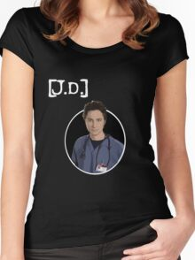 J.D. Women's Fitted Scoop T-Shirt