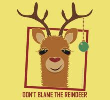 DON'T BLAME THE RAINDEER One Piece - Short Sleeve