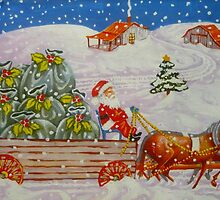 Christmas RFD Nineteen Forty Three by Elizabeth Henry by Vivian Eagleson