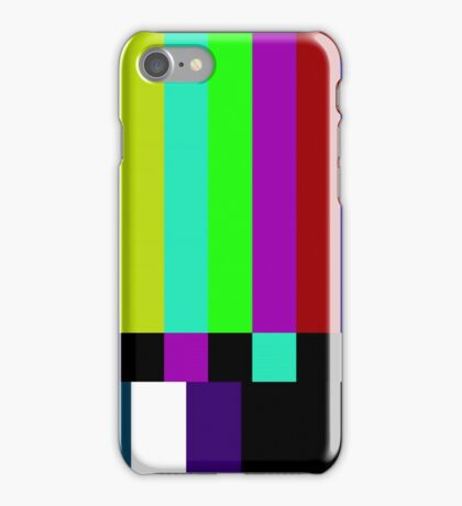 COLOR BARS iPhone Case/Skin