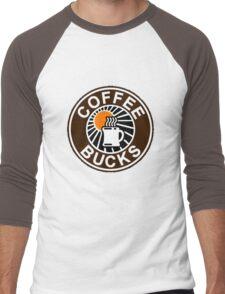 Coffee Bucks Men's Baseball ¾ T-Shirt