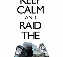 Keep Calm & Raid the Cornucopia by PolySciGuy