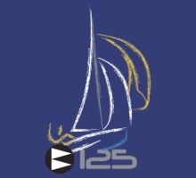 125 Sailing Dinghy by Paul Rooke