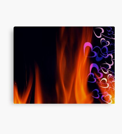 Heart Burn Canvas Print