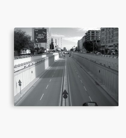 The way in Adana. Canvas Print