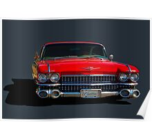 "1959 Cadillac ""Low Rider"" Poster"