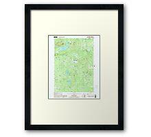 USGS TOPO Map New Hampshire NH Tuftonboro 329830 2000 24000 Framed Print