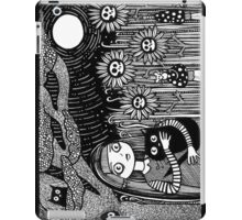 Midnight Hours and Deathly Flowers iPad Case/Skin