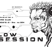 Flow Session Flyer #5 by delonte089