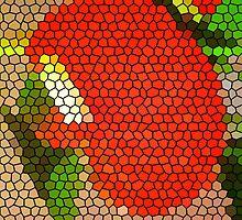 Honeycomb iPad Case by Fara