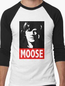 "Sam ""MOOSE"" Supernatural Men's Baseball ¾ T-Shirt"