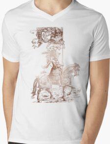 Knight in Shining Armor Mens V-Neck T-Shirt