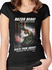 RAZOR BEAK SUPREME! Women's Fitted Scoop T-Shirt