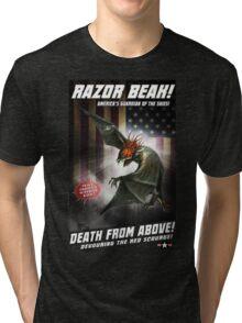 RAZOR BEAK SUPREME! Tri-blend T-Shirt