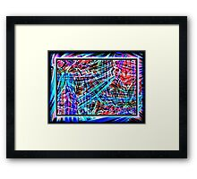 ABSTRACTAMONIUM Framed Print