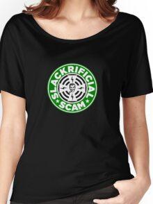 SLACKRIFICIAL SCAM Women's Relaxed Fit T-Shirt