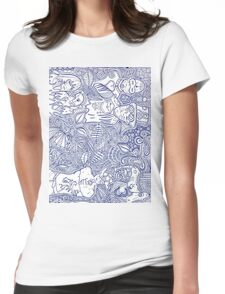 'Ajna' Third Eye Chakra Womens Fitted T-Shirt