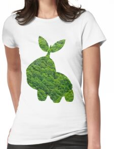 Turtwig used Synthesis Womens Fitted T-Shirt