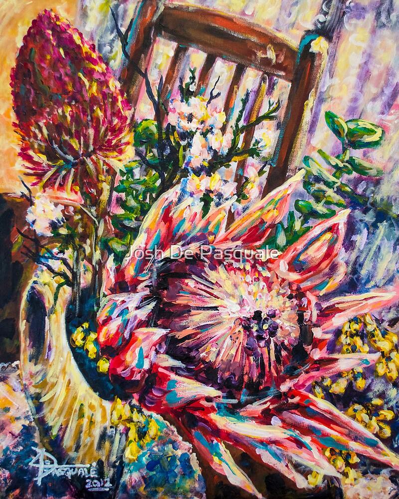We Colourful Flowers by Josh De Pasquale