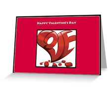 Phat Love Greeting Card