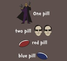 Red Pill, Blue Pill by GhostGlide