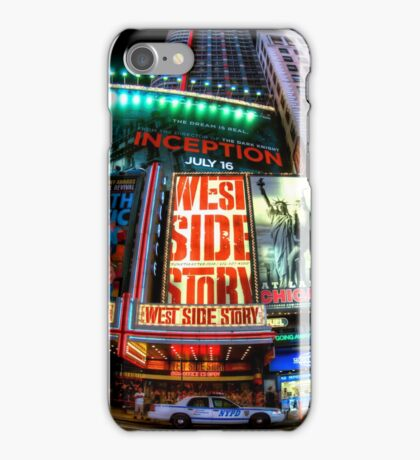 Fisheye on Broadway iPhone Case/Skin