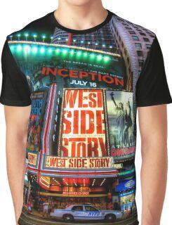Fisheye on Broadway Graphic T-Shirt
